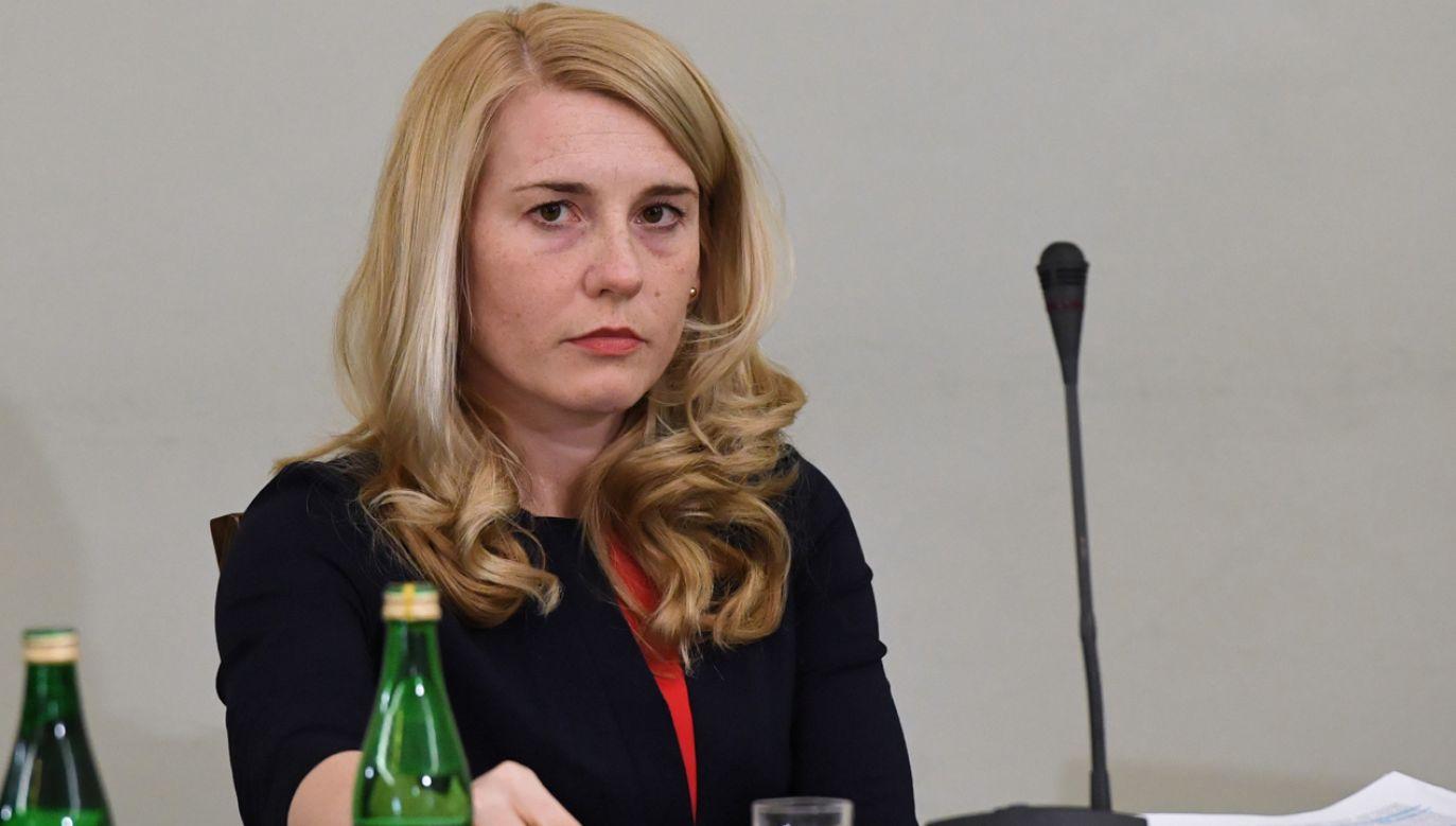B. wicedyrektor departamentu VAT w MF Beata Rogowska-Rajda (fot. PAP/Radek Pietruszka)