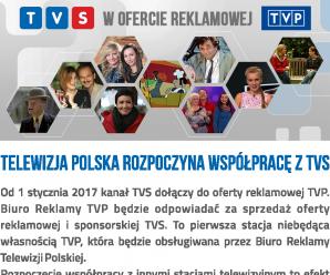 TVS w ofercie reklamowej TVP