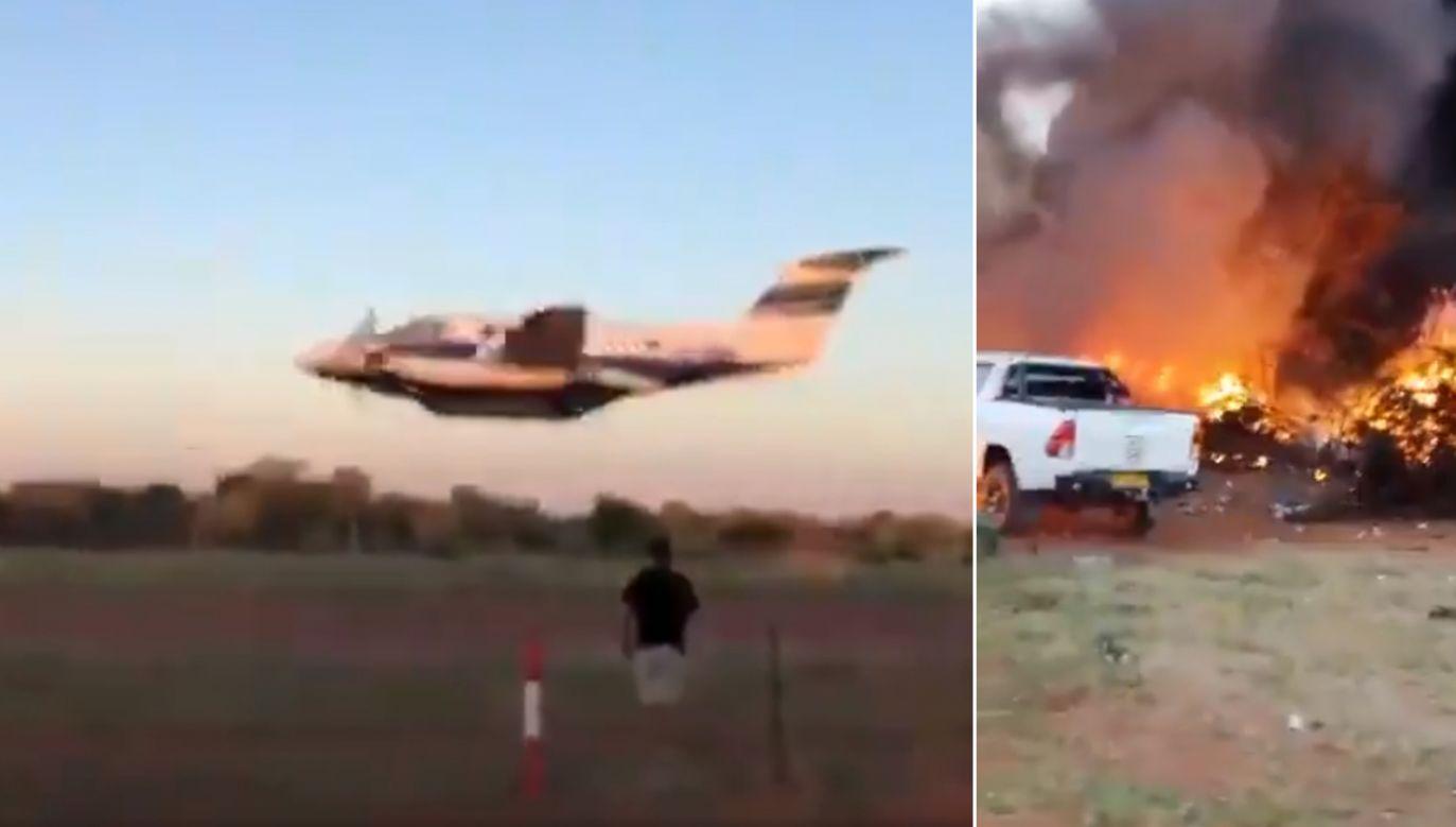 Z informacji medialnych wynika, że w ataku samobójczym zginął tylko 38-letni pilot (fot. TT/Search SA/Thinus)