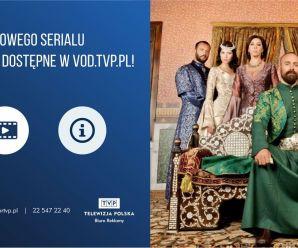 """4  sezony hitowego serialu """"Wspaniałe stulecie"""" dostępne w vod.tvp.pl!"""