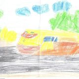 Zuzia Mętel, 4 lata, Rachowice