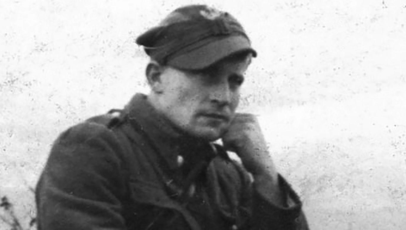 """Działający na Podhalu """"Ogień"""" był jednym z najbardziej znanych dowódców żołnierzy wyklętych (fot. pl.wikipedia.org)"""