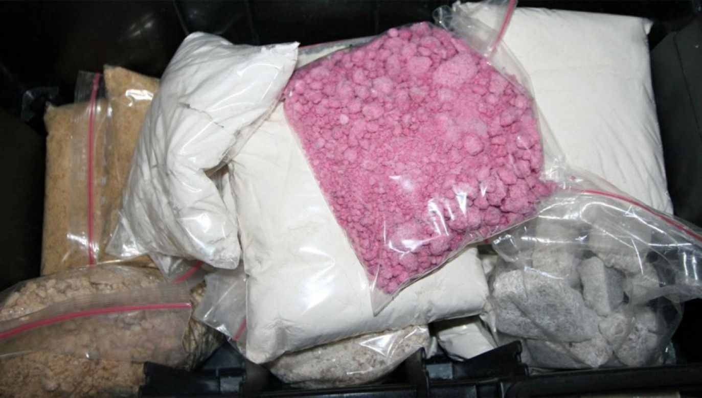 Dopalacze produkowano na bazie chemikaliów z Azji (fot. CBŚP)