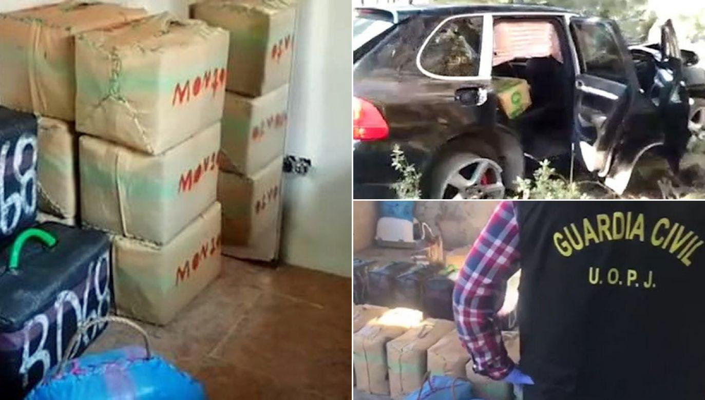 Przejęto aż 1,7 tony haszyszu (fot. Guardia Civil)