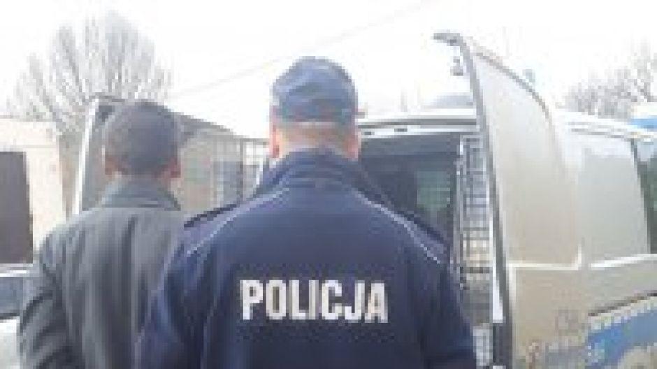 Policjanci zatrzymali recydywistę - złodzieja