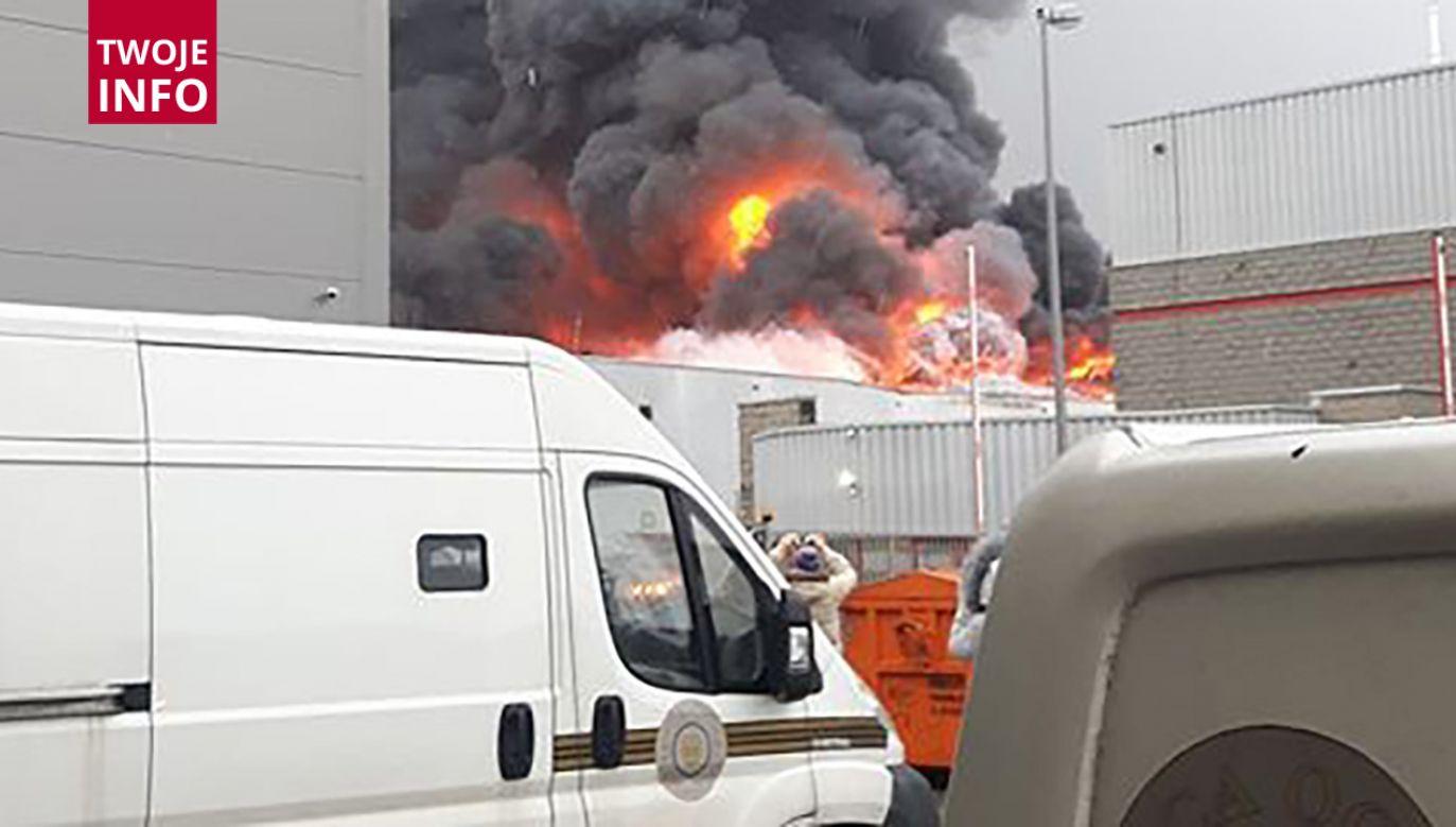 Częściowo zawaliła się konstrukcja budynku (fot. Twoje info)