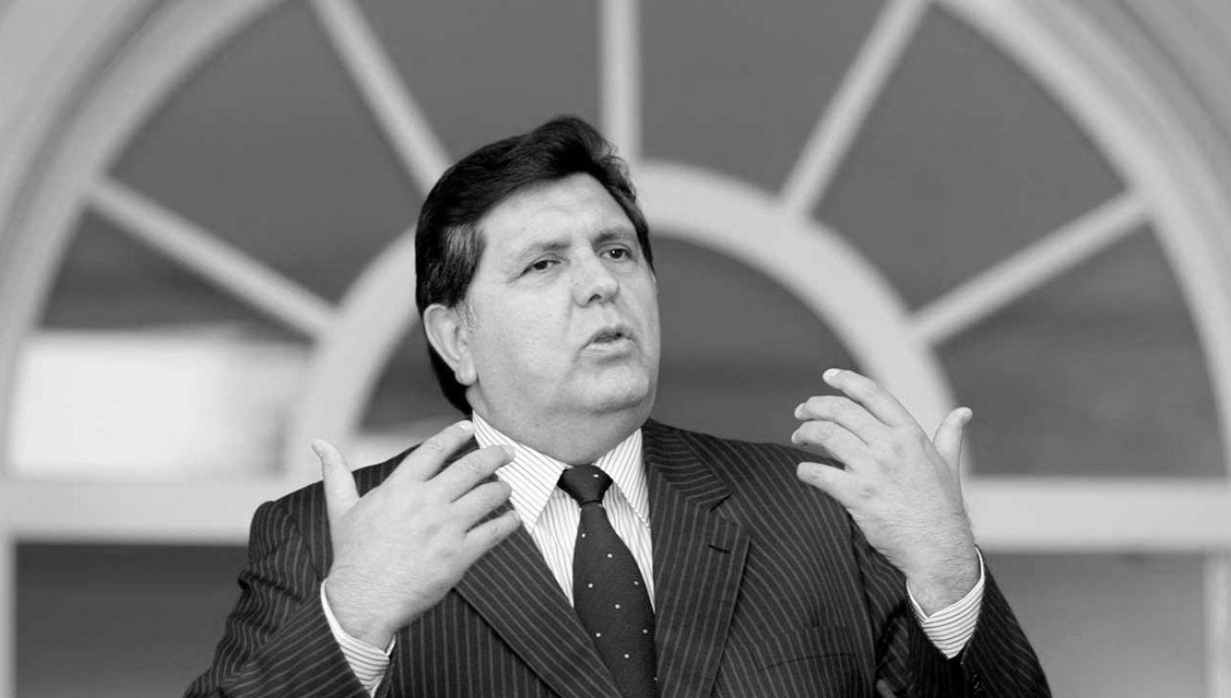 Alan Garcia rządził Peru przez dwie kadencje (fot. REUTERS/Sergio Perez)