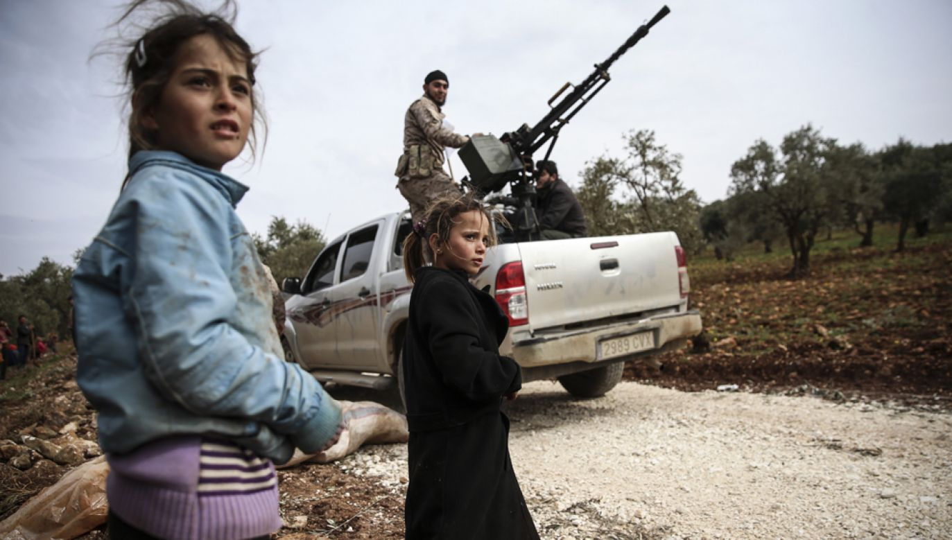 Za kraje, w których panują najgorsze warunki dla dzieci, organizacja Save the Children uznała Syrię, Afganistan i Somalię(fot. Murat Kula/Anadolu Agency/Getty Images