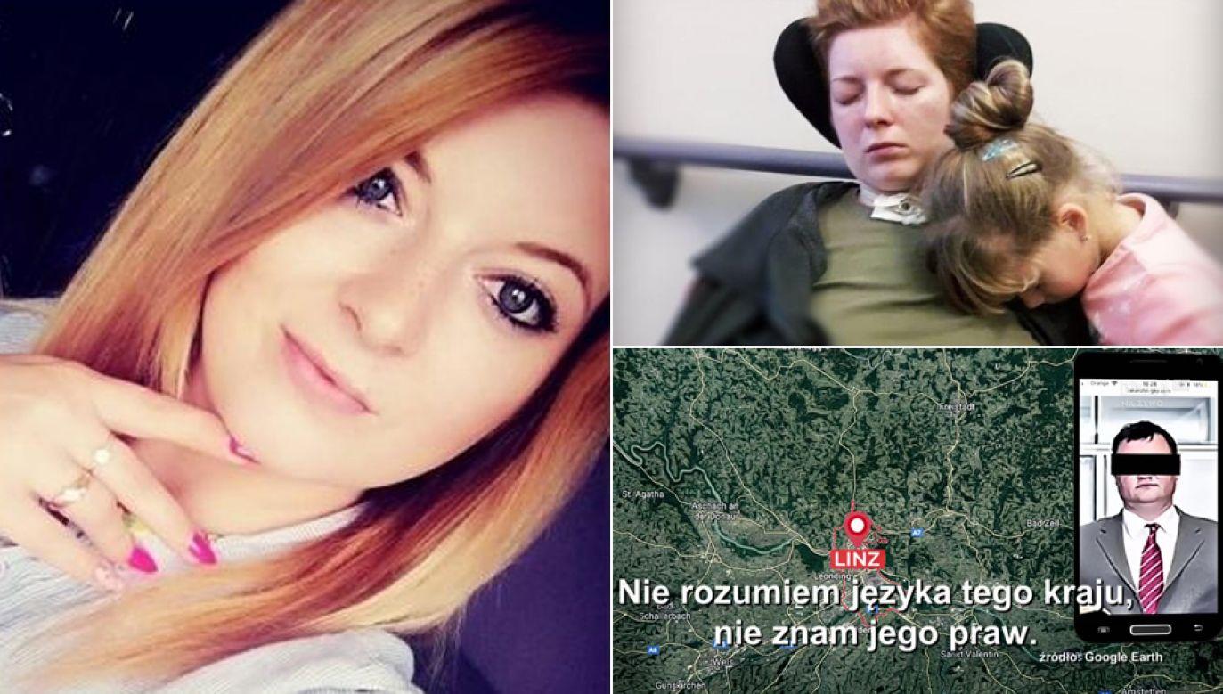 Koszty leczenia Karoliny Bebel są ogromne (fot. TVP1, SiePomaga.pl)