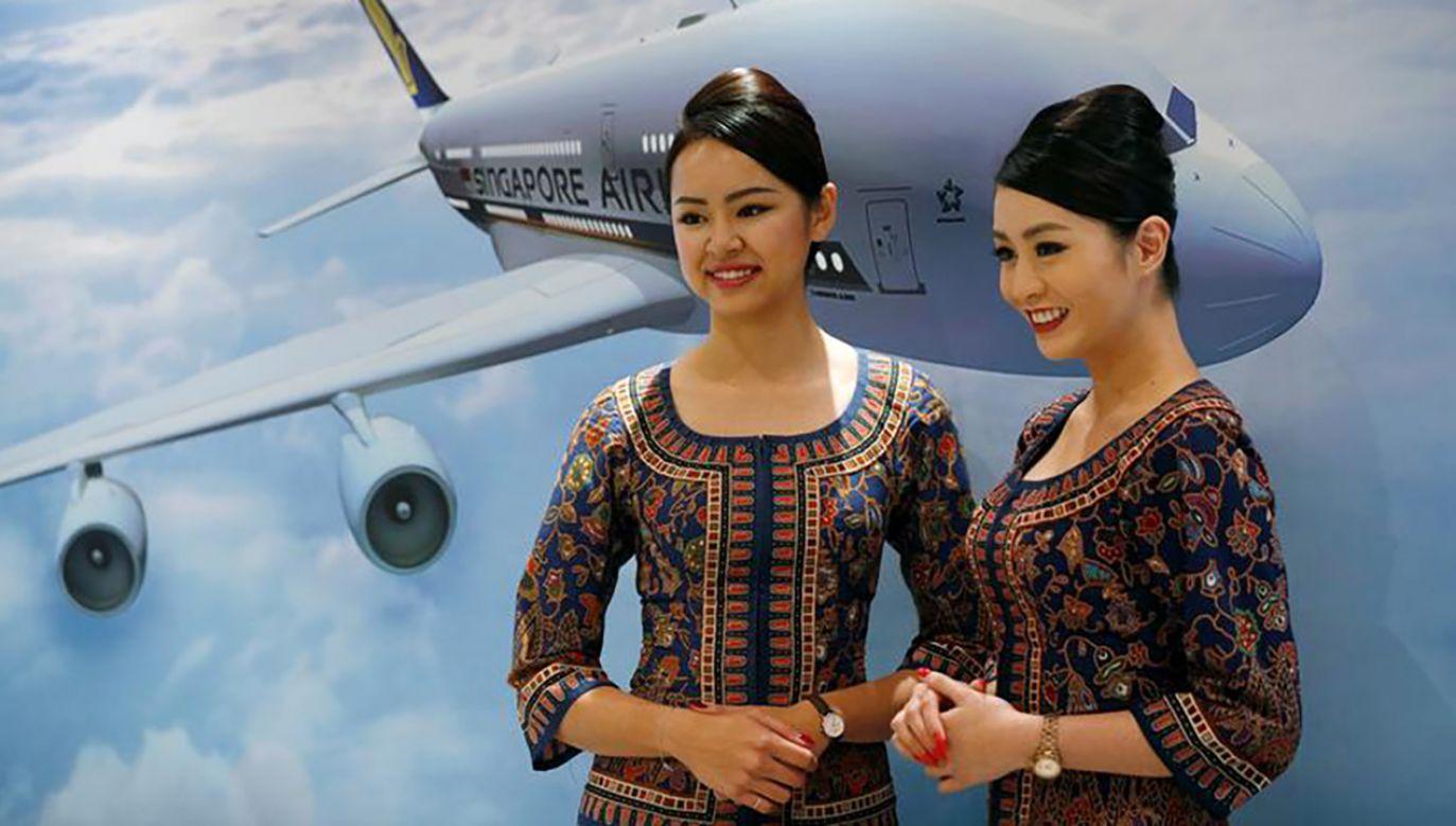 Według badań najlepszą linią lotniczą na świecie zostało Singapore Airlines (fot. REUTERS/Edgar Su)