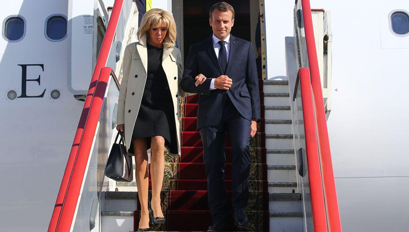 Francuskie władze chcą, by Emmanuel Macron przyjechał do Polski w pierwszej połowie roku (fot. Alexander Ryumin\TASS/Getty Images)