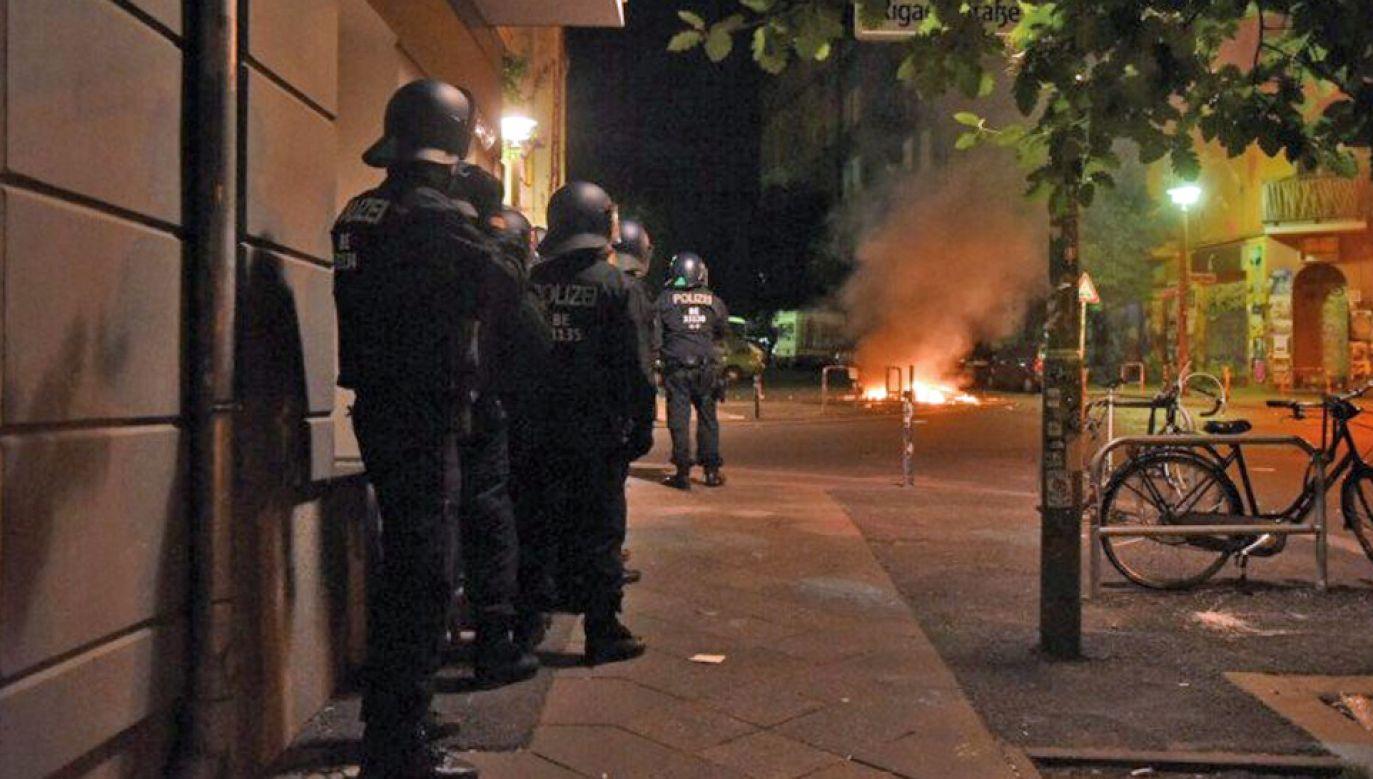 W akcji brało udział około 200 funkcjonariuszy (fot. TT/Onuca Balceraca)