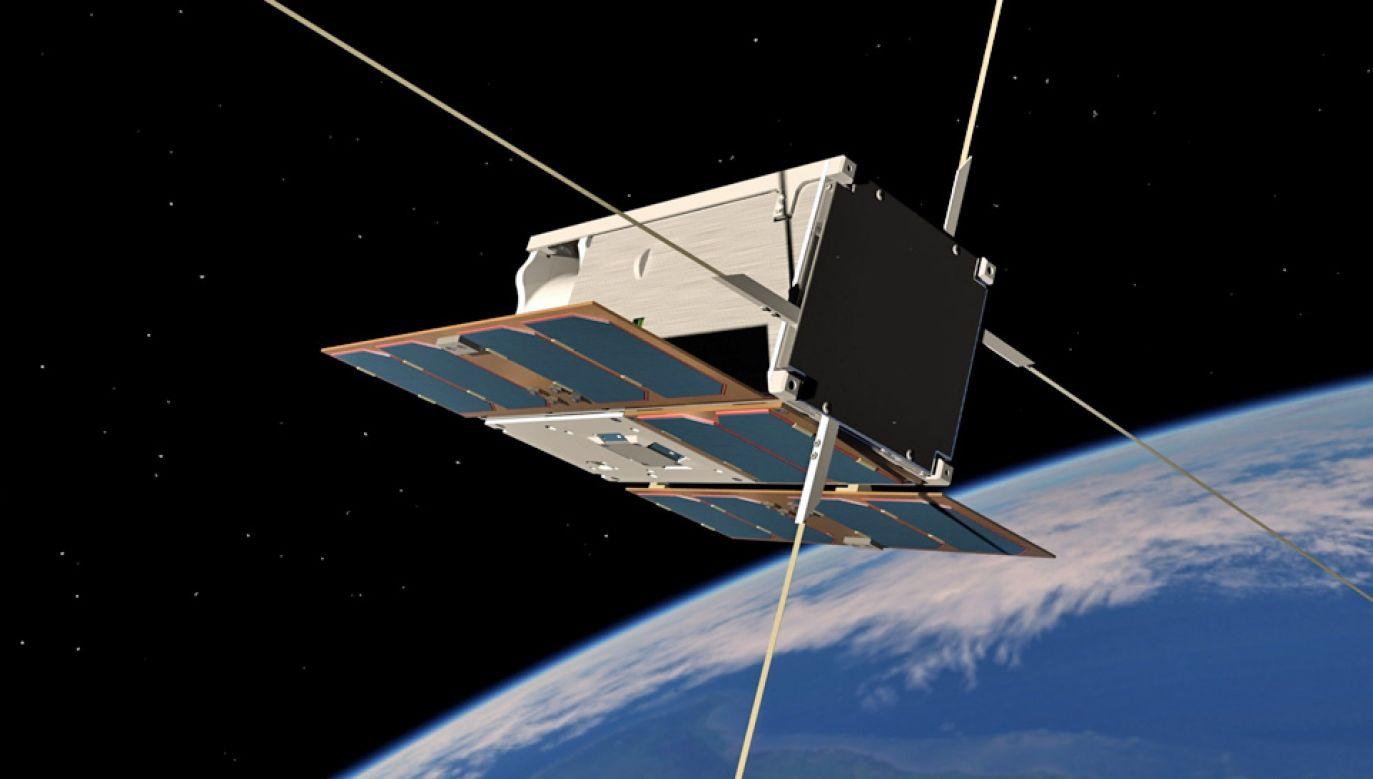 Satelita PW-Sat2 ma zająć się problemem kosmicznych śmieci (fot. mat. pras.)