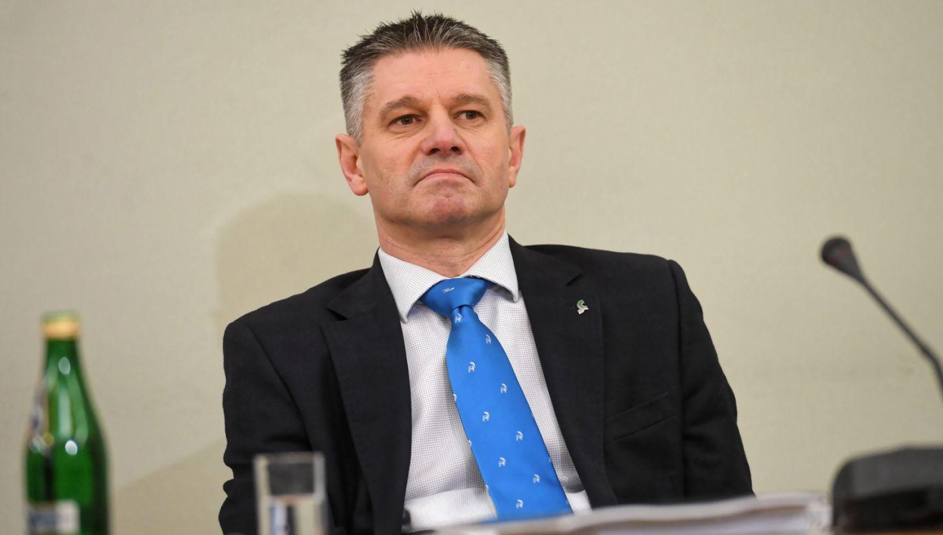 Były podsekretarza stanu w Ministerstwie Finansów Jacek Kapica (fot. PAP/Piotr Nowak)