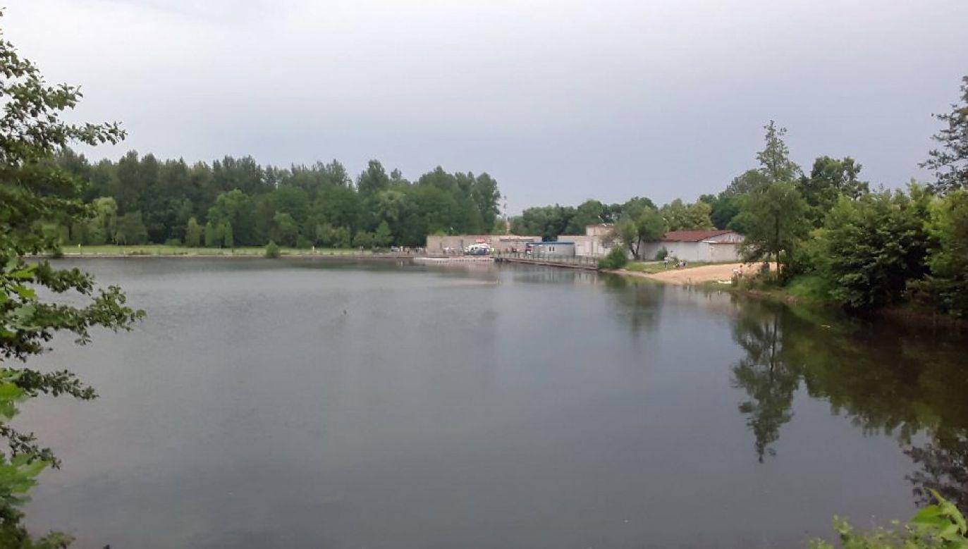 Do wypadku doszło na zbiorniku Bałtyk w Częstochowie (fot. Twoje Info)