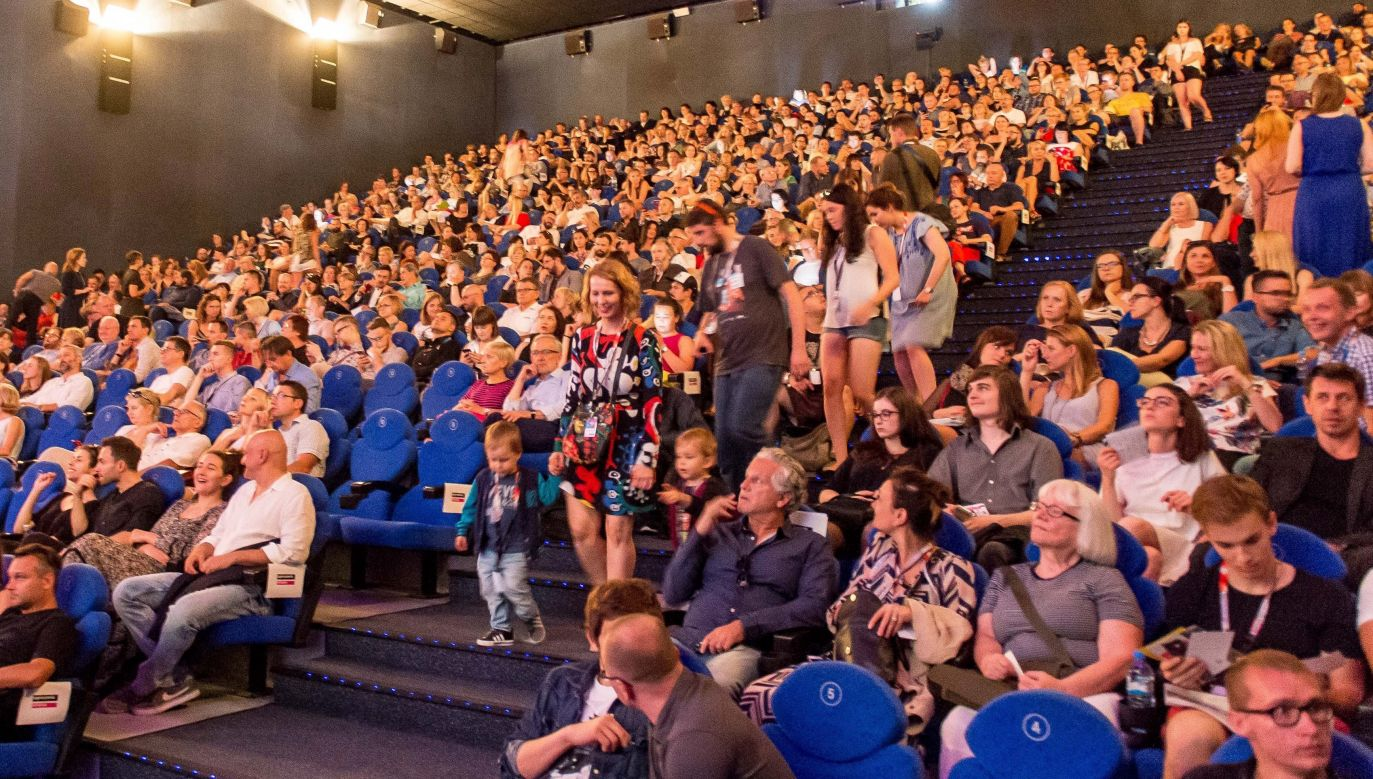 Each year, the festival hosts several dozens of film directors from all over the world, from debutants to undisputed film masters. Photo: PAP/Maciej Kulczyński