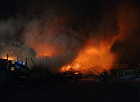 Ponad 70 strażaków walczyło z ogniem