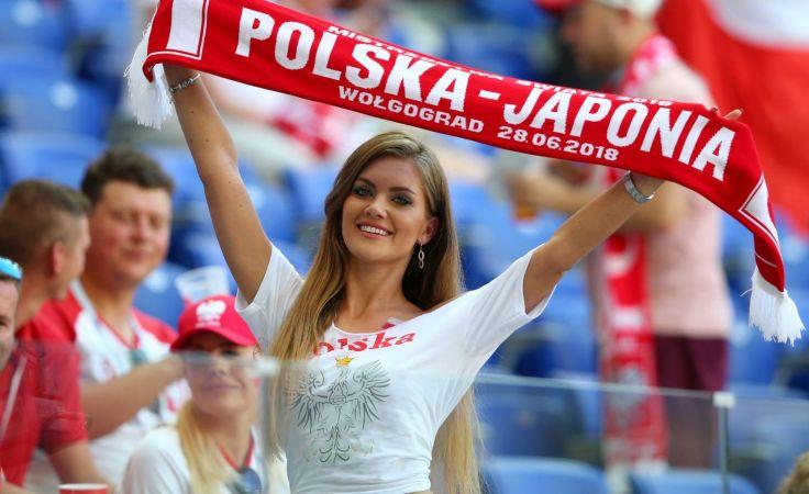 Fanka reprezentacji Polski (fot. Getty Images)