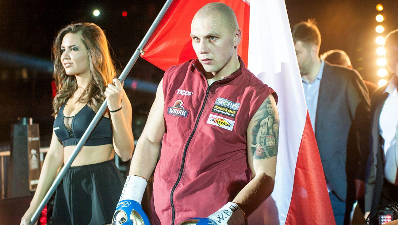 Pochodzący z Wałcza Głowacki już był mistrzem świata WBO, tytuł wywalczył w 2015 roku (fot. arch. PAP/Tytus Żmijewski)