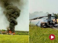 Awaryjne lądowanie polskiego śmigłowca wojskowego  we Włoszech. Żołnierze wyskakiwali z płonącej maszyny