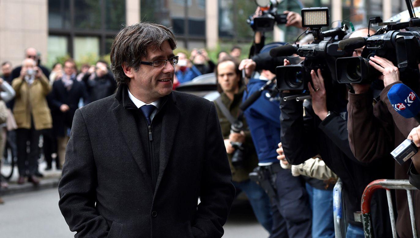 Część komekomentatorów uważa, że sędzia szybko nie wyda katalońskich polityków (fot. REUTERS/Eric Vidal)