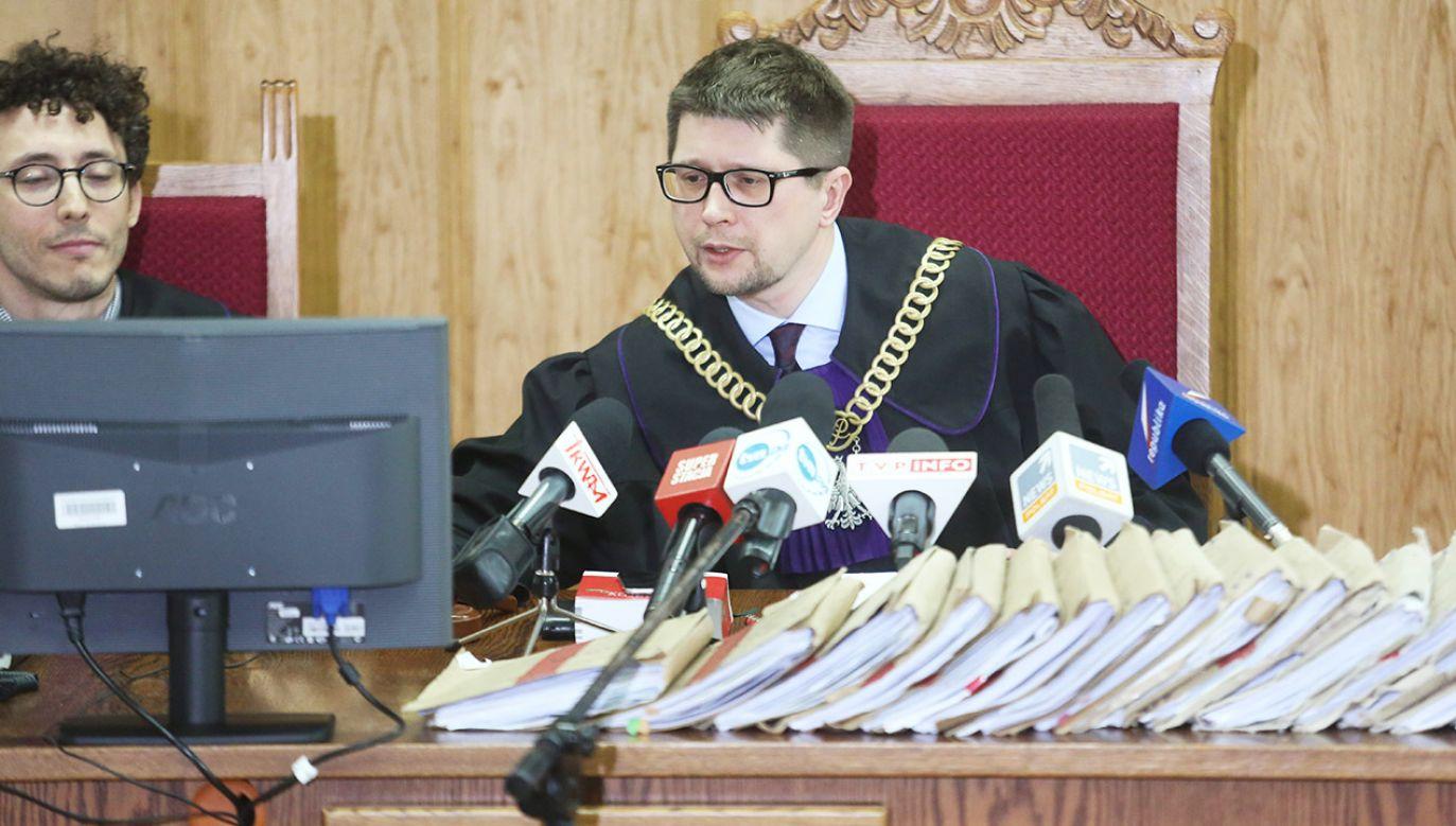 Sędzia Wojciech Łączewski (fot. arch.PAP/Leszek Szymański)