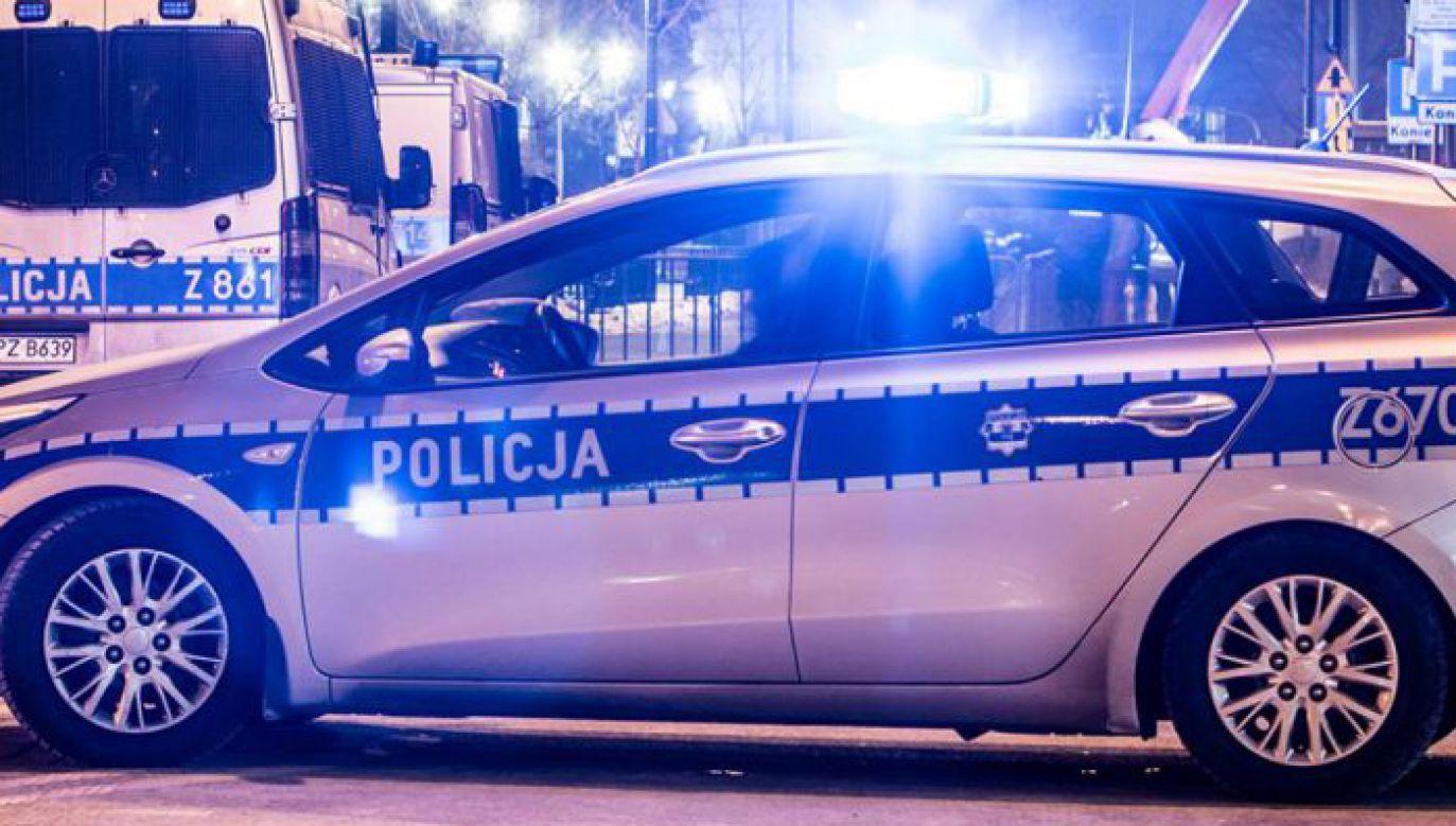 Nikt nie odniósł poważniejszych obrażeń (fot. policja.pl)