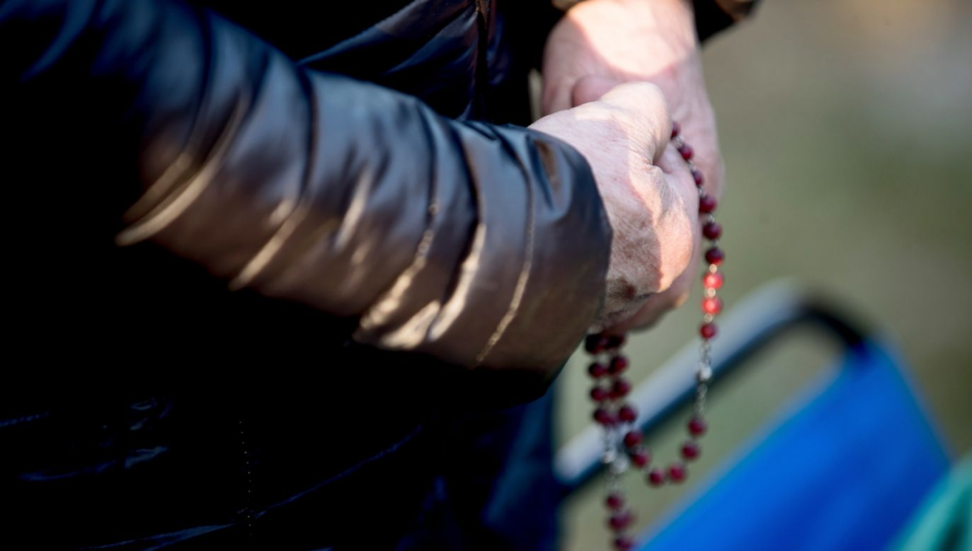 """Arcybiskup odnosząc się do sytuacji politycznej zaznaczył, że """"bez sprawiedliwości nie ma przyszłości dla chrześcijan w Iraku""""  (PAP/Łukasz Gągulski)"""