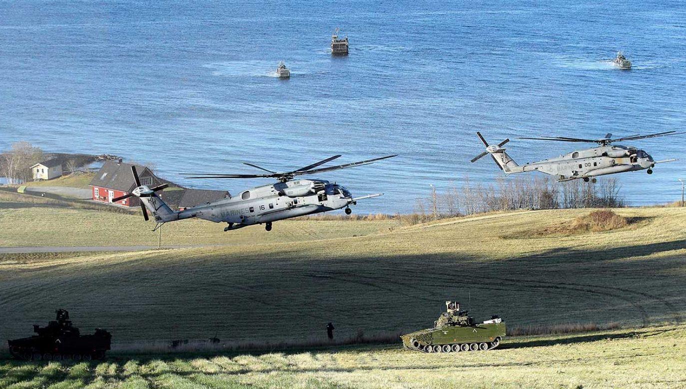Zeszłoroczne ćwiczenia NATO były największymi od dziesięcioleci (fot. Dursun Aydemir/Anadolu Agency/Getty Images)