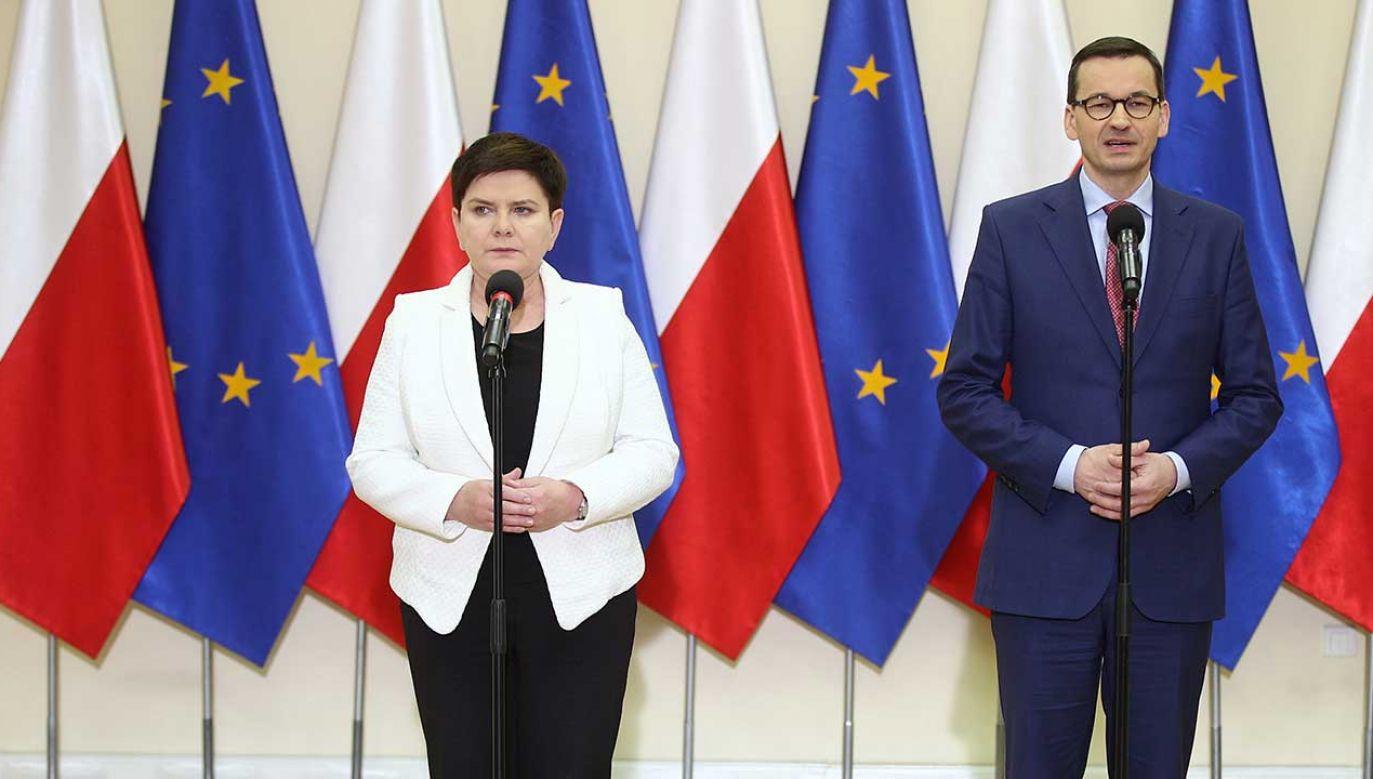 Rząd zapowiada okrągły stół ws. oświaty (fot. PAP/Łukasz Gągulski)
