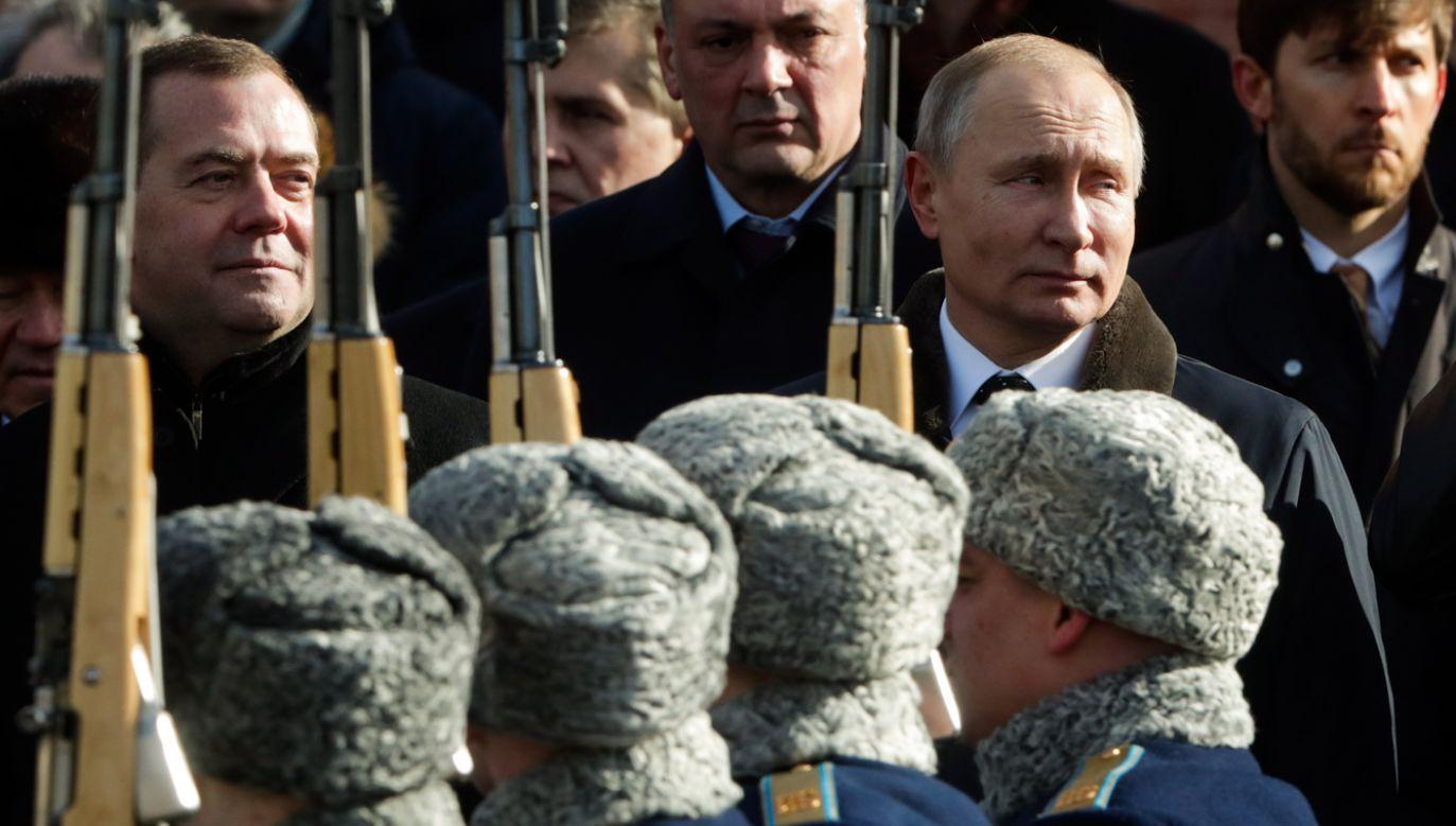 Rosyjski biznesmen wezwał Rosjan do sprzeciwu wobec militarystycznej propagandy Władimira Putina (fot.  Mikhail Metzel\TASS via Getty Images)