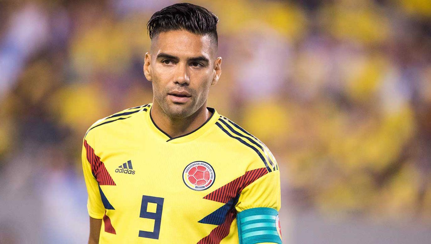 Kolumbijski piłkarz Radamel Falcao (fot. Tim Clayton/Corbis/Getty Images)