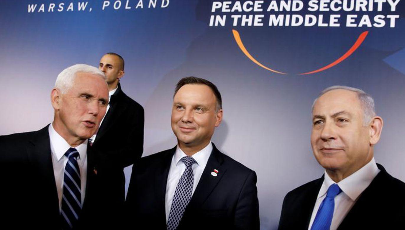 W Warszawie odbyła się międzynarodowa konferencja dot. sytuacji na Bliskim Wschodzie (fot. REUTERS/Kacper Pempel)