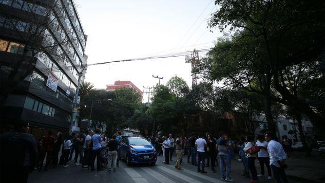 W piątek stan Oaxaca i stolicę kraju nawiedziło trzęsienie ziemi o magnitudzie 7,2 (fot. Manuel Velasquez/Anadolu Agency/Getty Images)