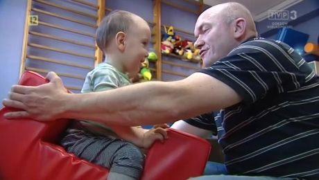 08.05.2018, 2-letni Olaf Truchan urodził się z otwartym rozszczepieniem kręgosłupa i potrzebuje irehabilitacji