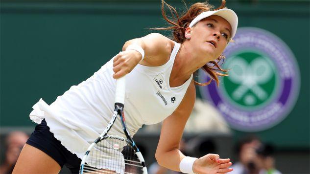 Agnieszka Radwańska zagrała m.in. w finale Wimbledonu (fot. PAP/EPA/JONATHAN BRADY)