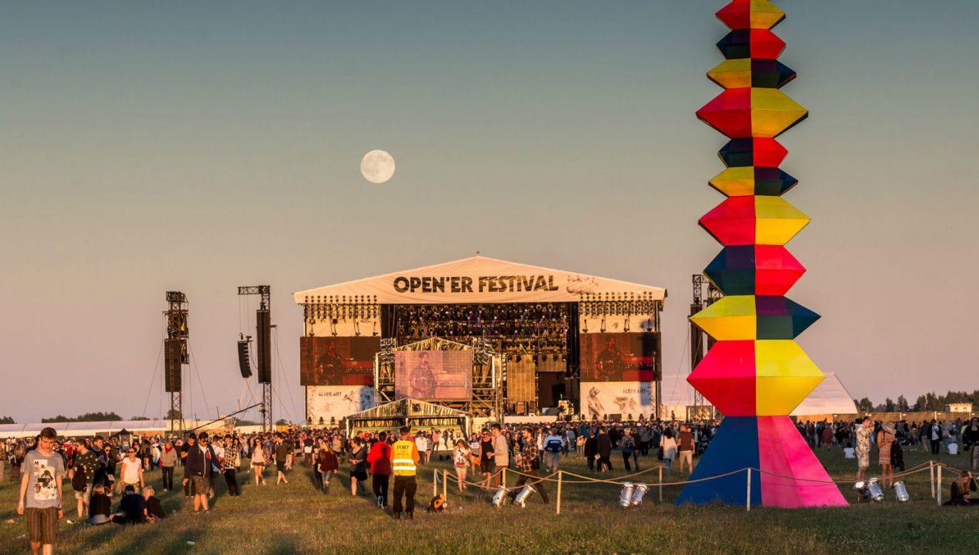 Poland Open'er music festival. Photo:opener.pl/M. Murawski
