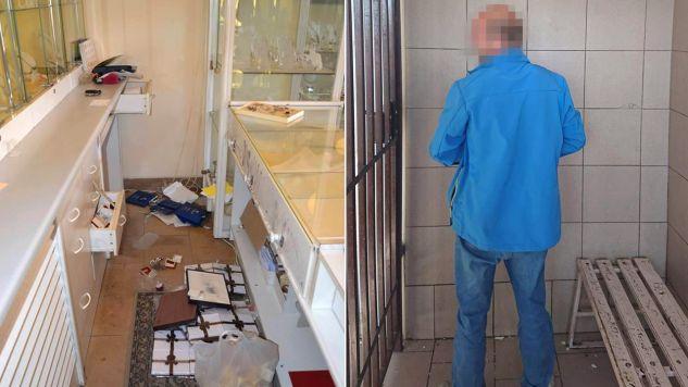 Straty oszacowano na 1,5 tysiąca złotych (fot. KMP Tarnów)