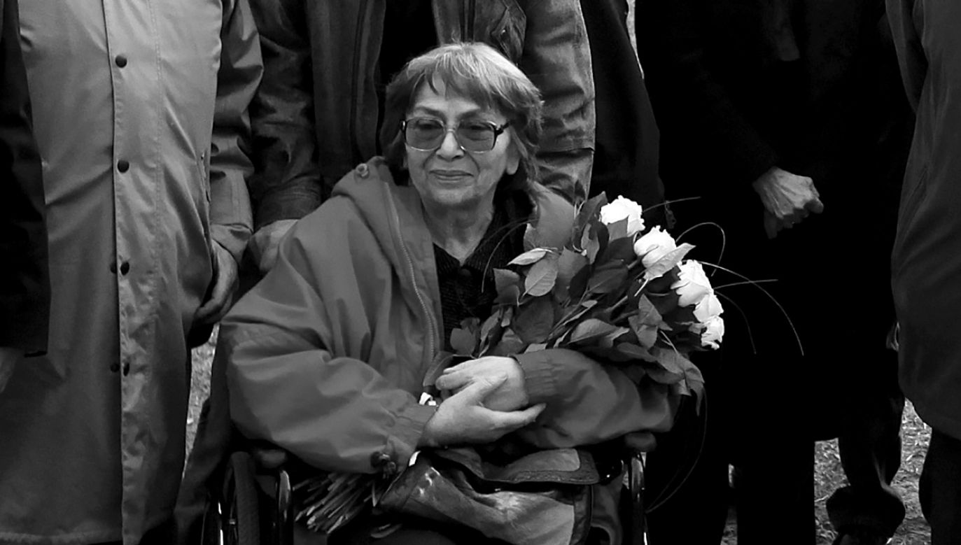 Zytę  Oryszyn uhonorowano m.in.  Nagrodą Literacką Gdynia i Gryfią (fot. arch. PAP/Tomasz Gzell)