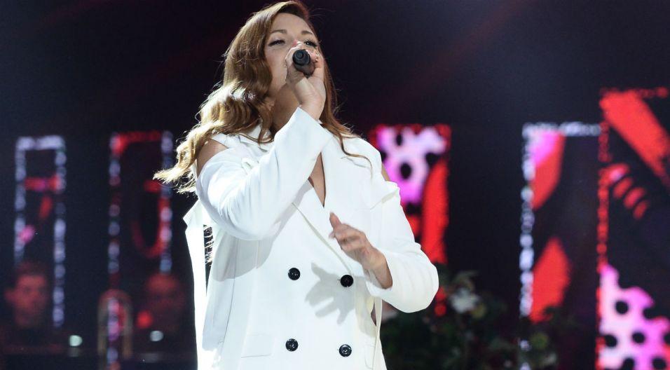 Zaproszenie do wspólnego świętowania przyjęła także Dominika Gawęda (fot. TVP)