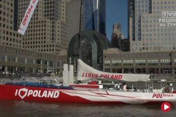 Jacht I love Poland podbija serca Nowojorczyków