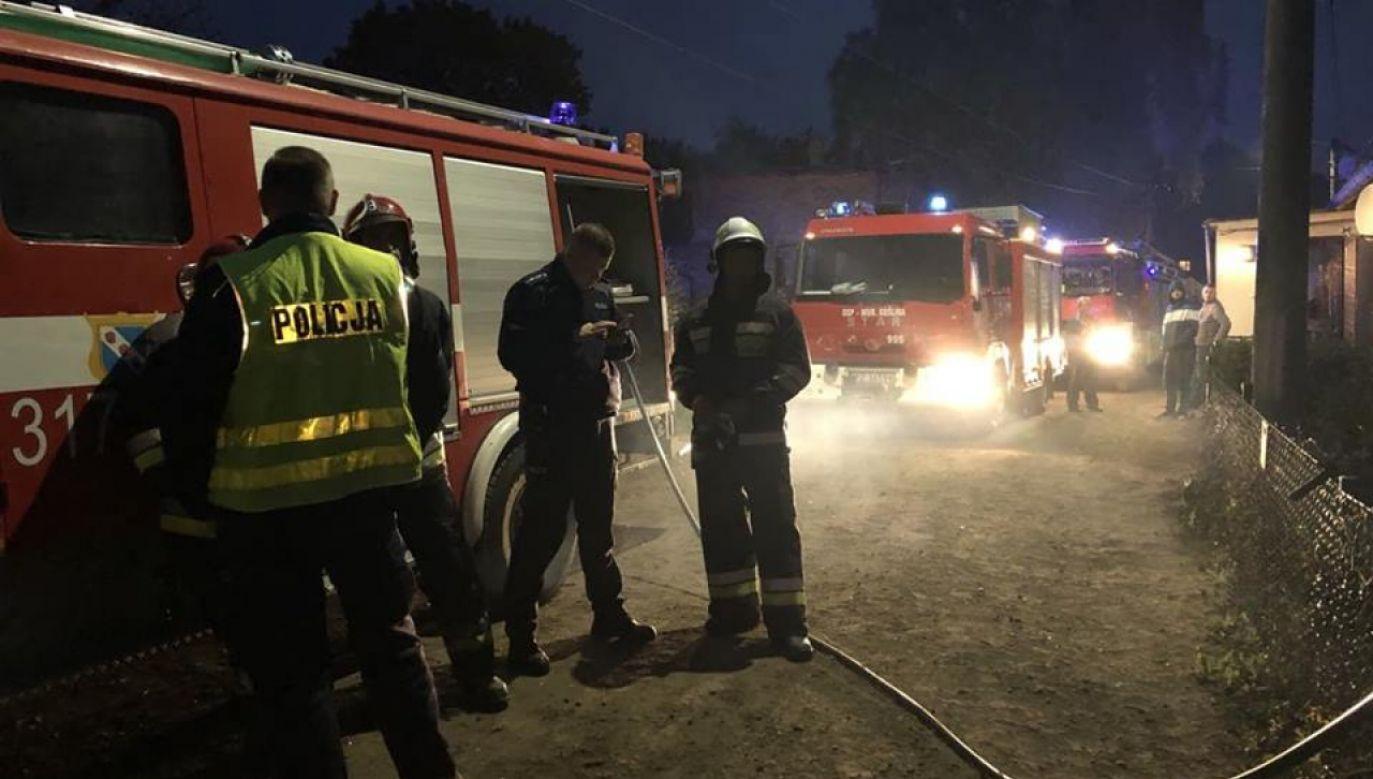 Dom, w którym doszło do zdarzenia nie nadaje się do zamieszkania. Zapadła decyzja o konieczności rozbiórki (fot. www.murowana-goslina.pl)