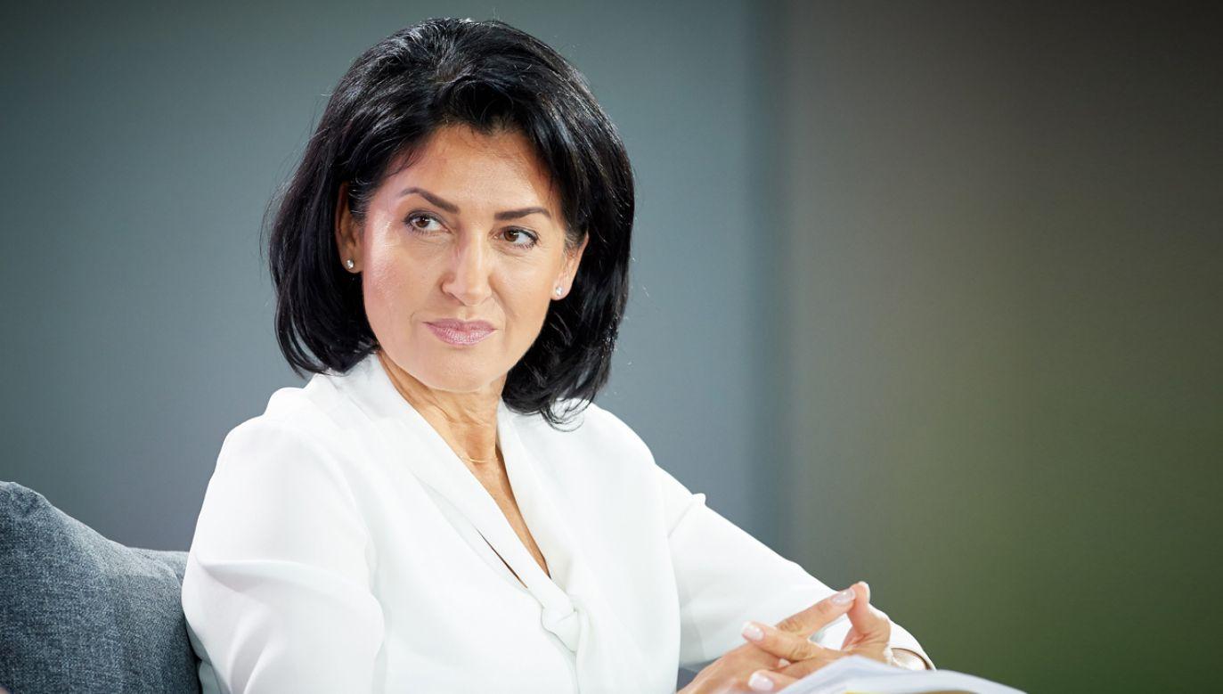 Beata Stelmach została prezesem PZL-Świdnik (fot. arch. PAP/Adam Warżawa)