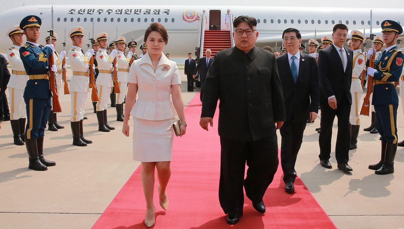Kim Dzong Un (fot. PAP/EPA/KCNA)