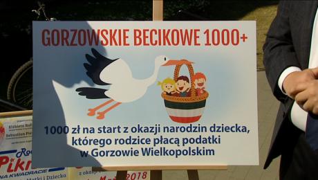 Sebastian Pieńkowski obiecuje tysiąc złotych becikowego