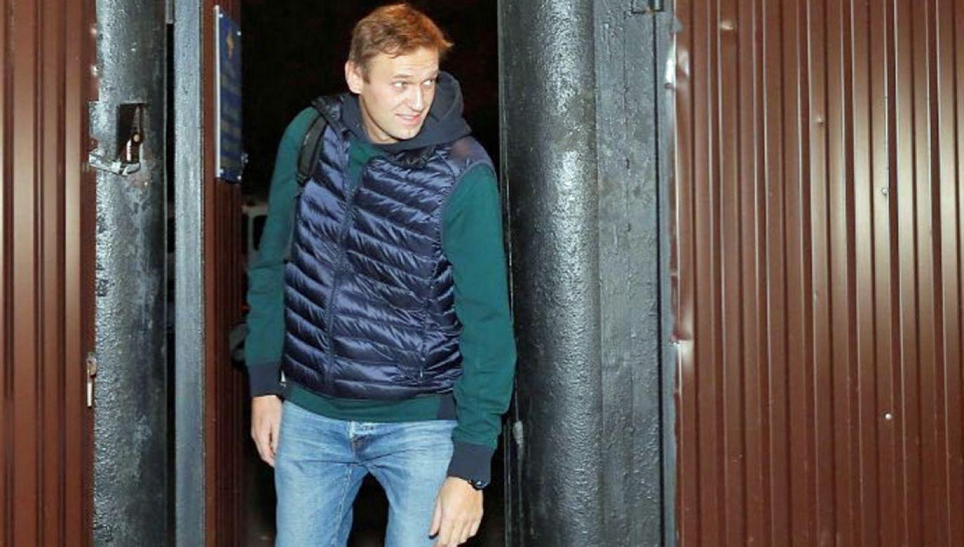 Aleksiej Nawalny jest szykanowany przez rosyjskie władze (fot. FB/Алексей Навальный)