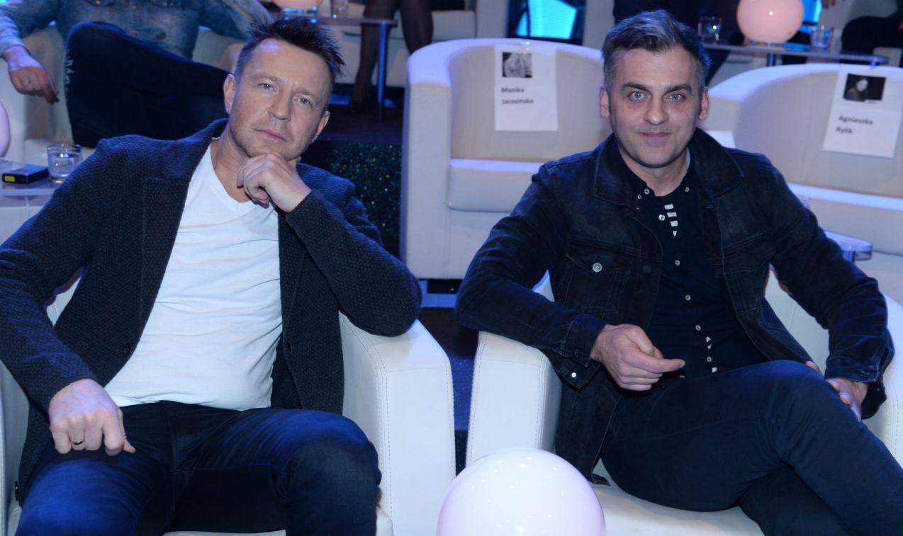 Europejską wiedzę sprawdzili również Wojciech Błach i Marcin Sztabiński (fot. TVP/J. Bogacz)