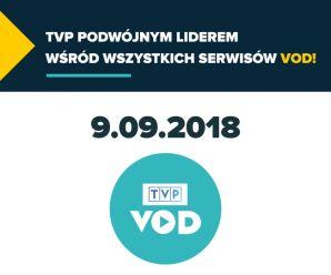 TVP podwójnym liderem wśród wszystkich serwisów VOD