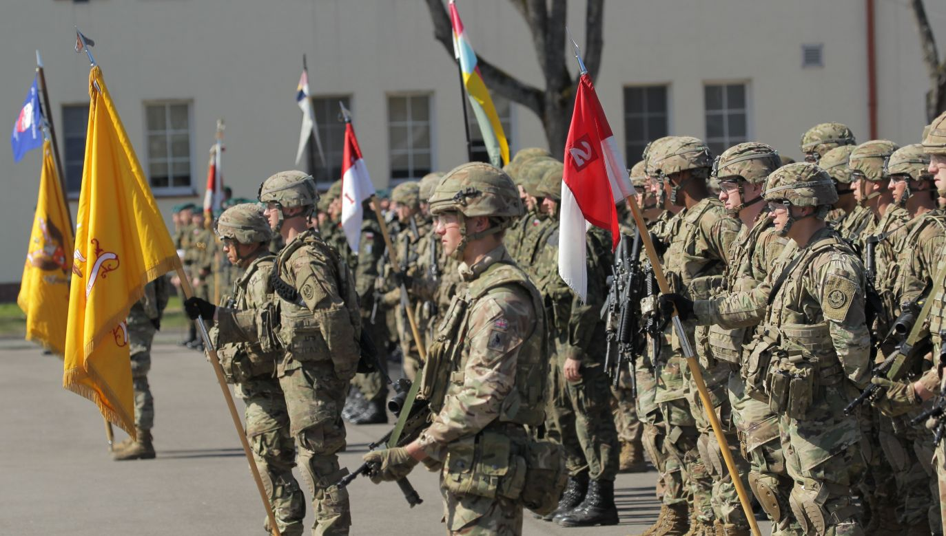 NATO troops in Bemowo Piskie. Photo: PAP/Tomasz Waszczuk