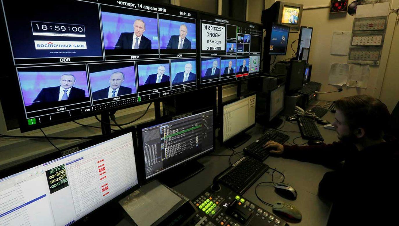 W krajach UE odnotowano ponad tysiąc przypadków rosyjskiej dezinformacji w czasie kampanii europarlamentarnej (fot. REUTERS/Ilya Naymushin)